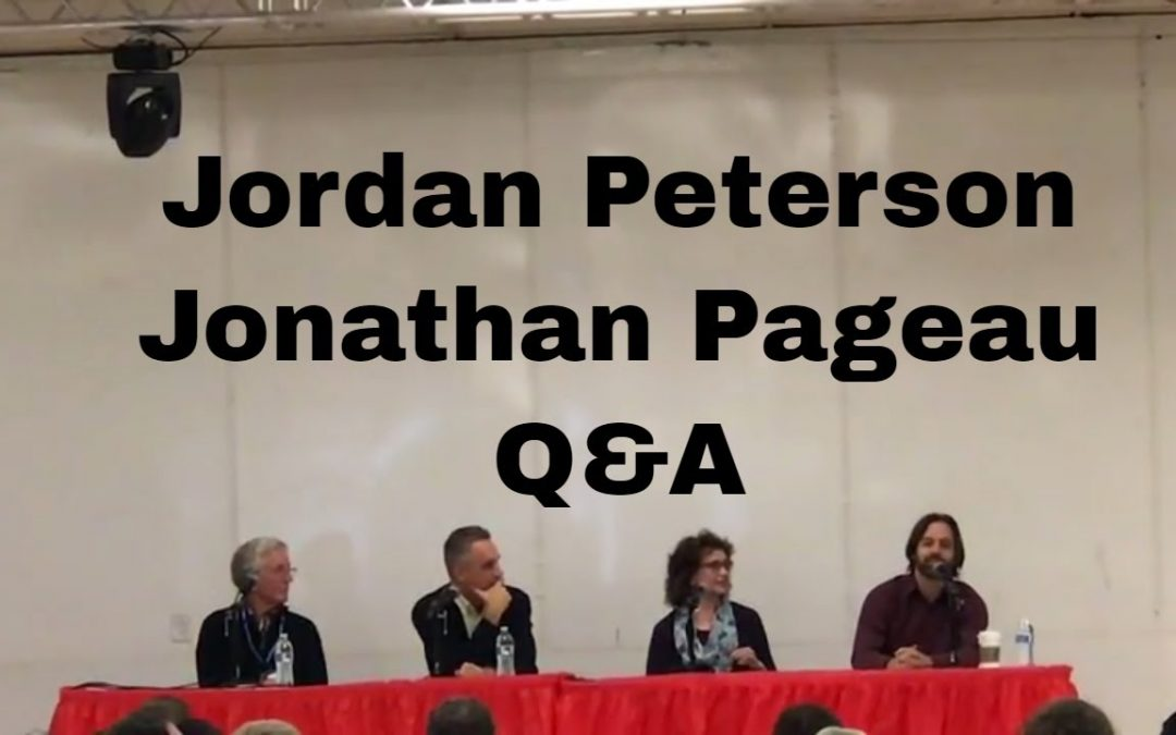 Jordan Peterson and Jonathan Pageau Q&A at Seattle Conference – Oct. 2017