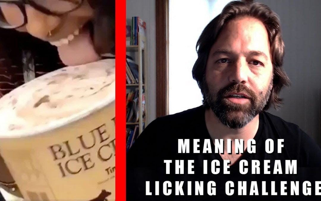 Meaning of the Ice Cream Licking Challenge