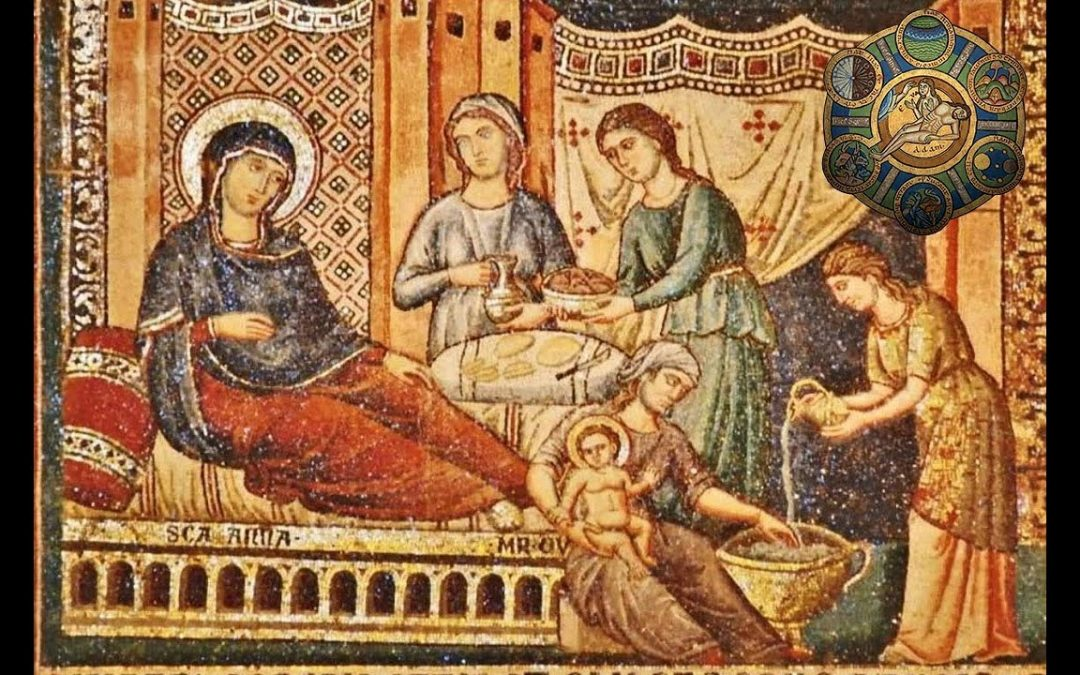From Barren Earth to Pure Land – The Nativity of the Mother of God