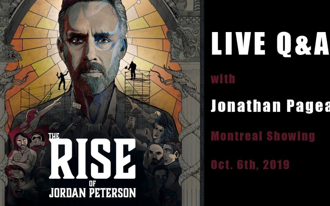 Rise of Jordan Peterson – Live Q&A with Jonathan Pageau