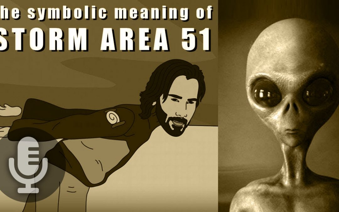 The Symbolism of Storm Area 51
