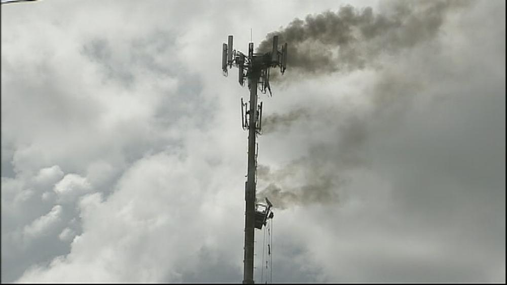 The Symbolism of Cell Tower Arson