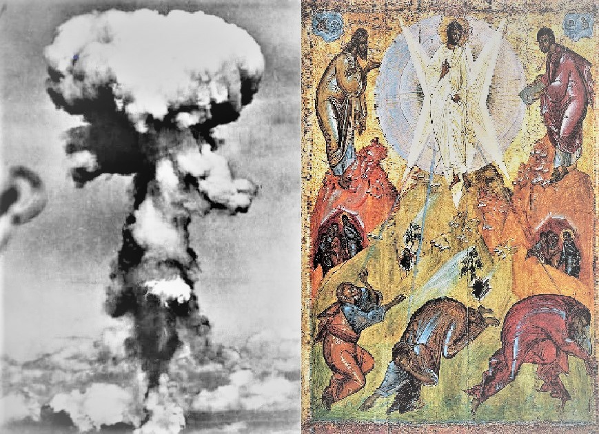 A Symbolic Meditation on Hiroshima at 75: Divine-Human Transfiguration and Transhuman Disfiguration