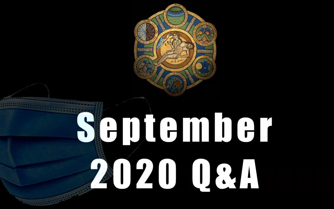 Advance Questions for September Q&A
