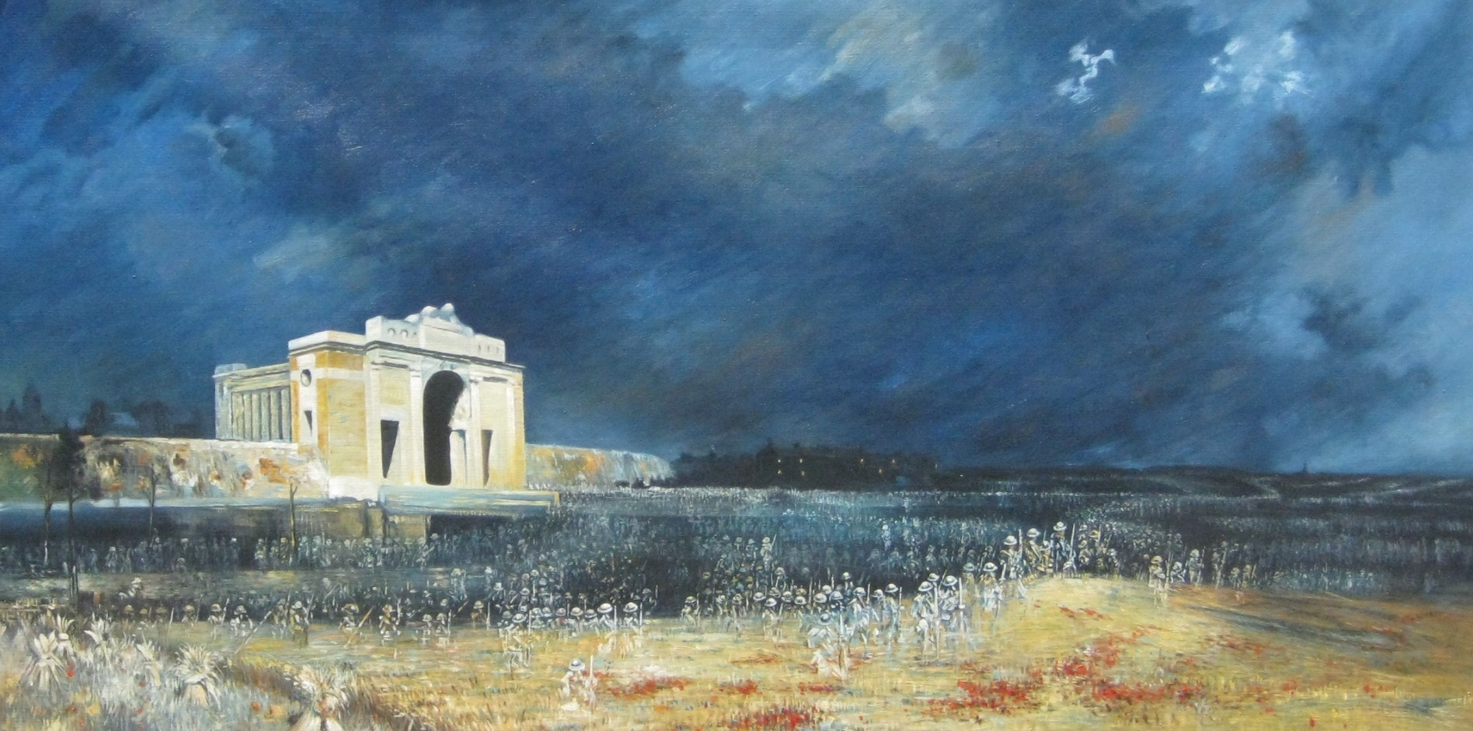 In Remembrance: Menin Gate at Midnight