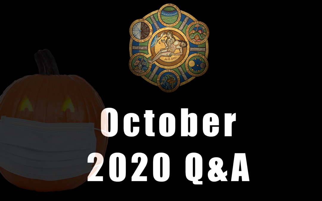 Advance Questions for October Q&A