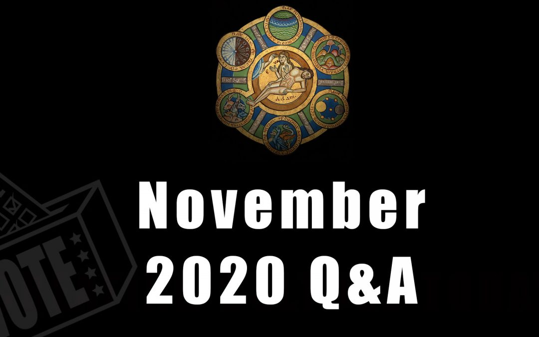 Advance questions for November 2020 Q&A