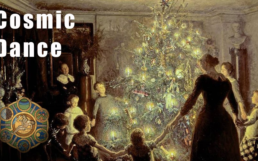 The Cosmic Dance of Decorating a Christmas Tree – Patron only