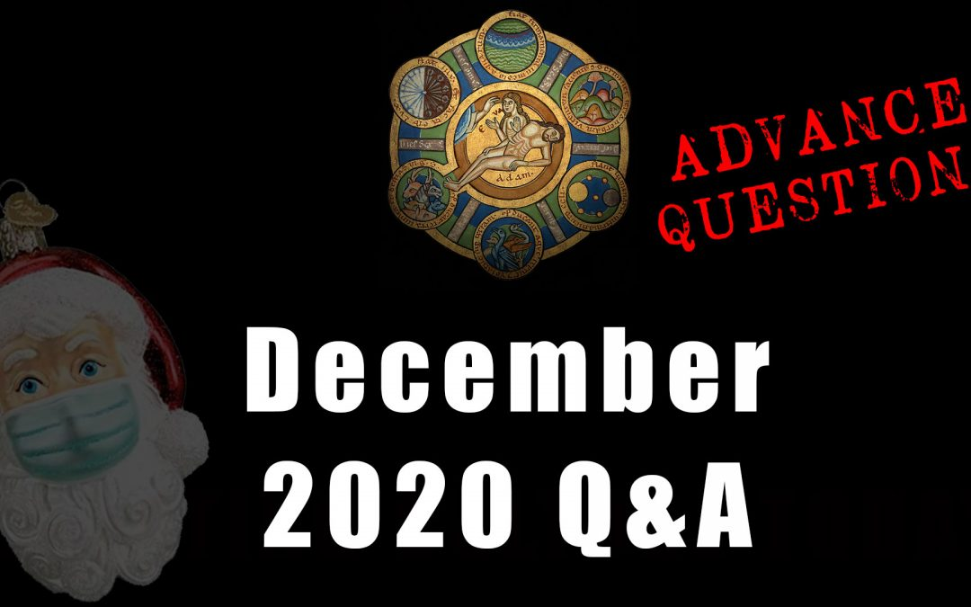 Advance Questions for December Q&A