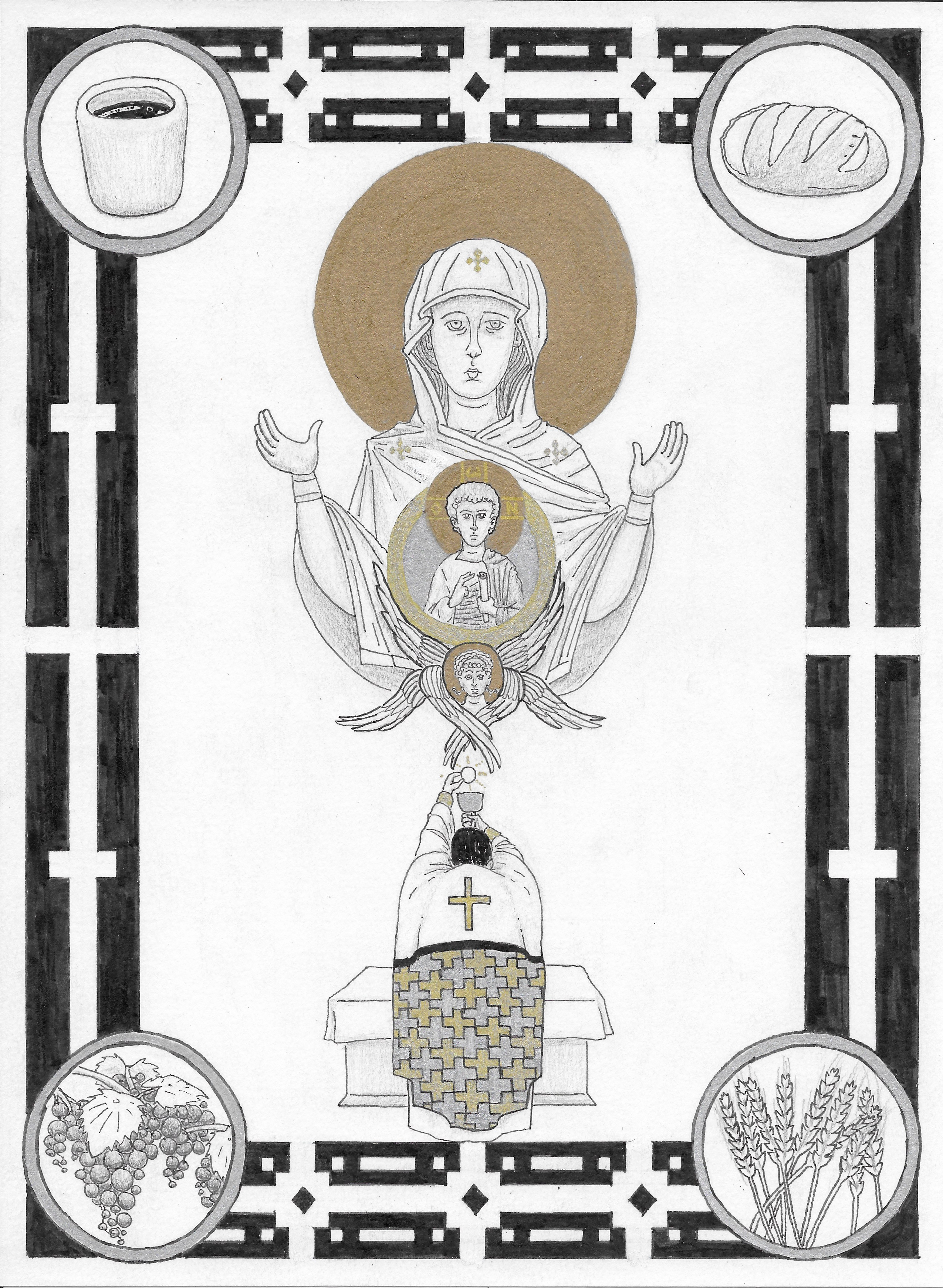 Thine Own of Thine Own:  Symbolic Musings on the Eucharist