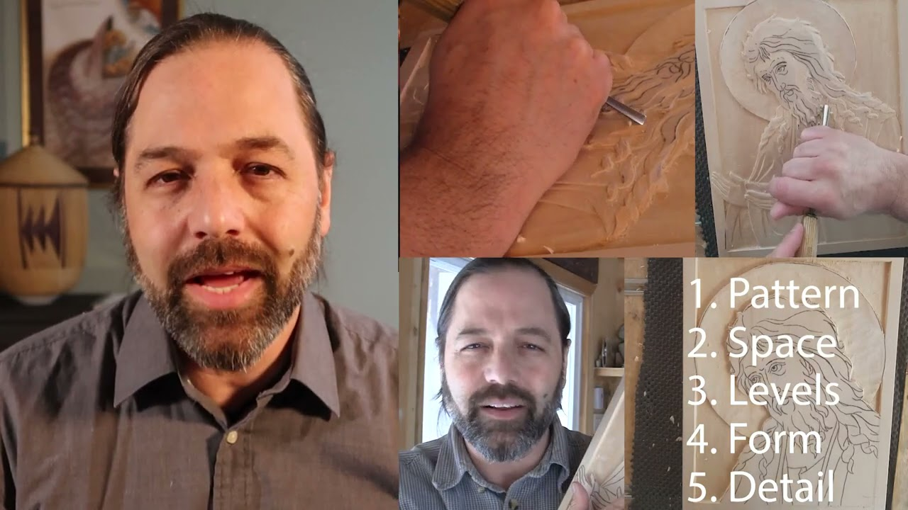 New Online Icon Carving Class