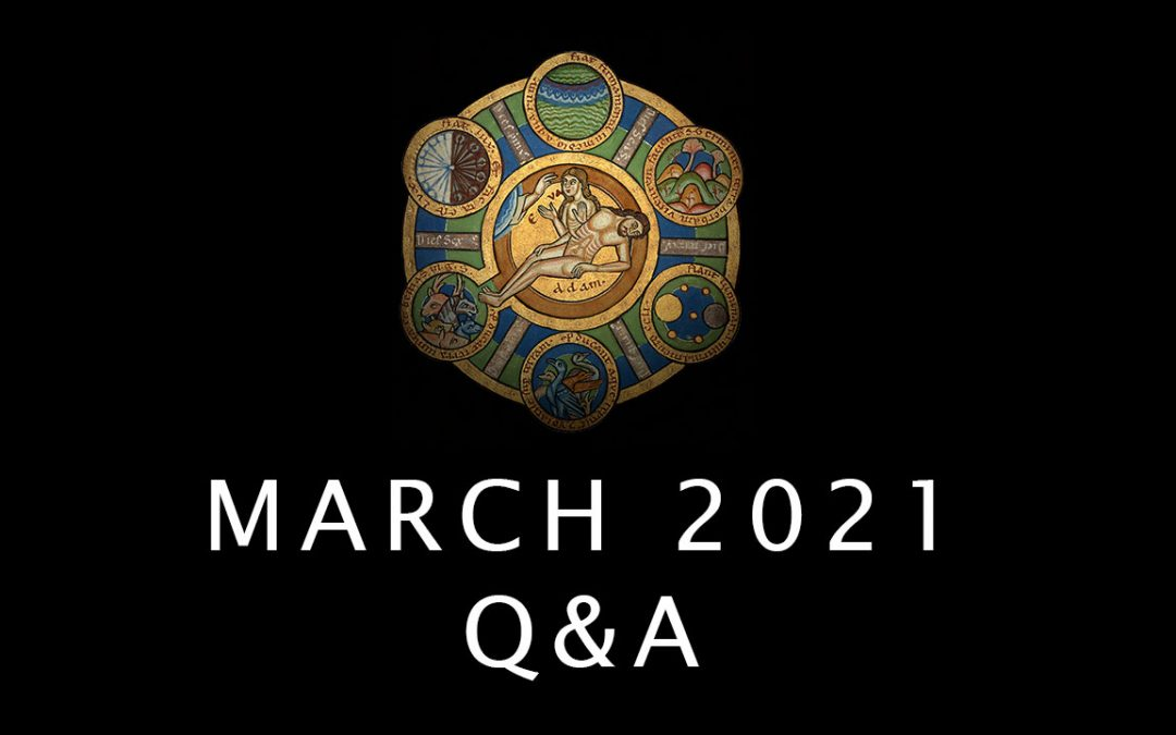 Advance Questions for March Q&A