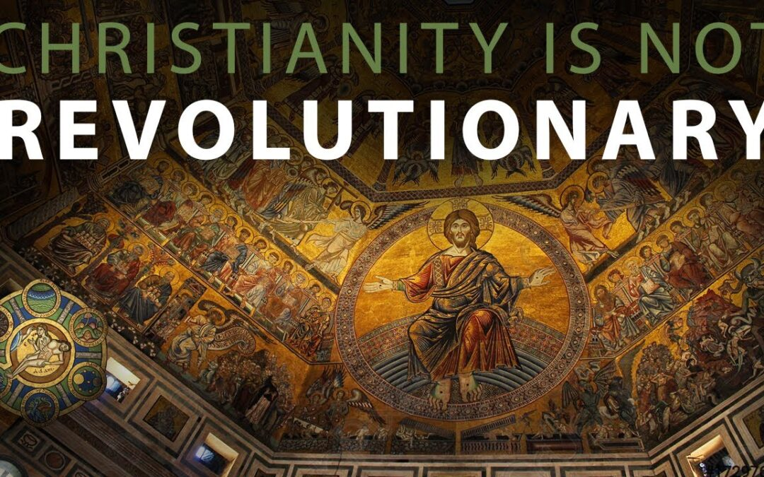 Christianity is Not Revolutionary: Parables of the Vinedressers and the Wedding Feast