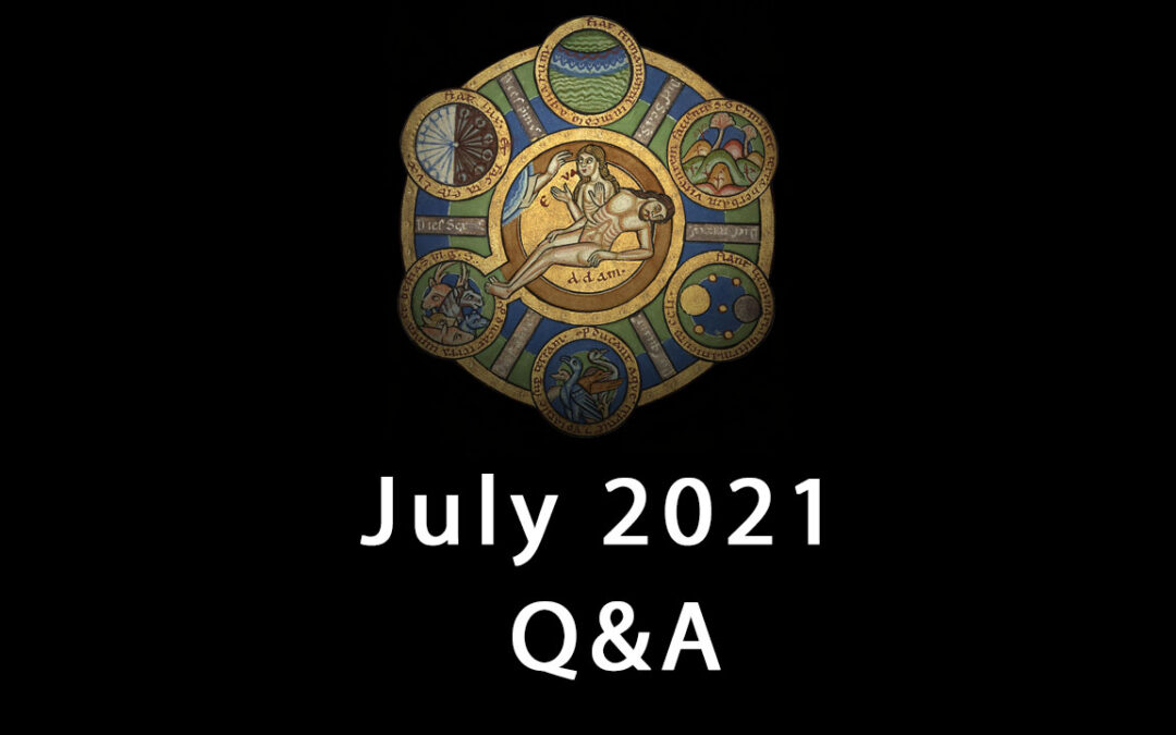 Questions for July Q&A